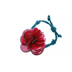 Roses & Fleurs Rose bracelet en tagua, ivoire végétal par Kokobelli
