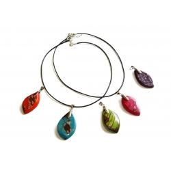 Sélection de bijoux en Tagua, Noos