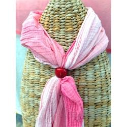 Autres accessoires Bague de foulard en tagua, ivoire végétal par Kokobelli