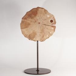 Sculpture en tagua, ivoire végétal par Kokobelli