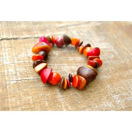Bracelets en tagua, ivoire végétal - Selva - kokobelli