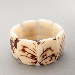 Bracelet Mosca blanc