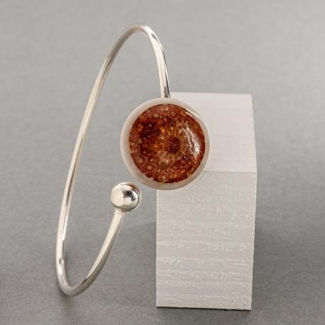 Collection POMME DE PIN en tagua, ivoire végétal - Bracelet Fibonacci - kokobelli