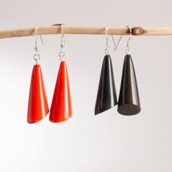 Boucles d'oreilles Cônes (couleur)