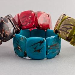 Bracelet Mosca marbré (coloré)