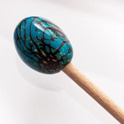 Pic à chignon en tagua en tagua, ivoire végétal par Kokobelli