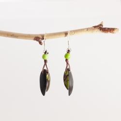 Boucles d'oreilles Fiamma (couleurs)