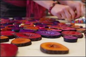 Fabrication par Kokobelli d'objets en tagua