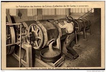 Histoire des boutons en corozo