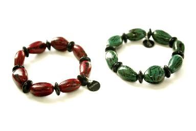 Kokobelli Collection HOMME de bijoux en Tagua (ivoire végétal)